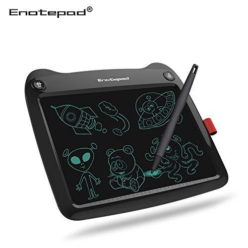 Tableta de escritura LCD de 9 pulgadas (9 pulgadas), el mejor regalo para dibujar y escribir para niños y adultos, bloc de papel para...