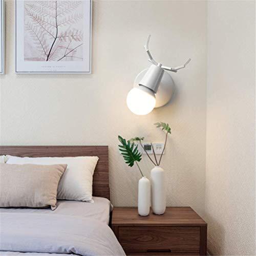 Hai Ying ® LED wandlamp van smeedijzer Retro industrie ijzeren flessenrek tillen wandlamp muur wash lamp licht muur schijnwerper voor 's nachts wit