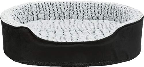 Trixie 37251-1 Vital Bett Lino, 60 × 45 cm, schwarz/grau