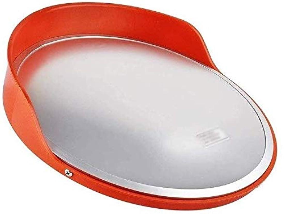 イルひも一晩屋外道路凸面安全ミラー、駐車場に適した防雨日焼け止めトラフィックミラー工場入口ブラインドスポットミラー(サイズ:30CM)