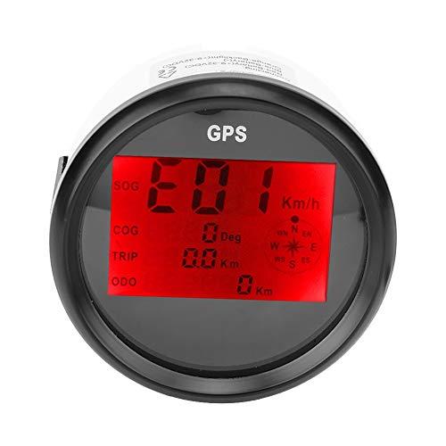Velocímetro digital ultra ancho, curso de odómetro de calibre -40 ° C - + 85 ° C -30 ° C - + 75 ° C -40 ° C - 85 ° C para barco de motocicleta del barco
