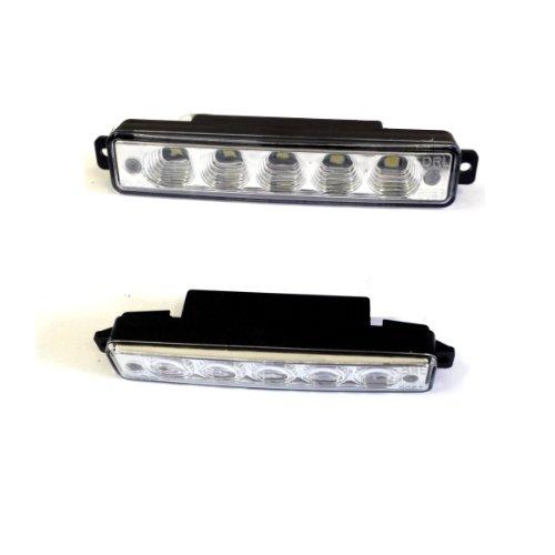 TL15 - POWER SMD LED Voiture Feux de Jour Lampe Anti-brouillard Phare Avant Projecteur LED feux diurnes Feu de navigation Éclairage DRL avec la ECE / R87 E4 approbations