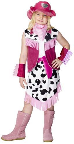 Smiffy's 28941L - Disfraz de rodeo para niña