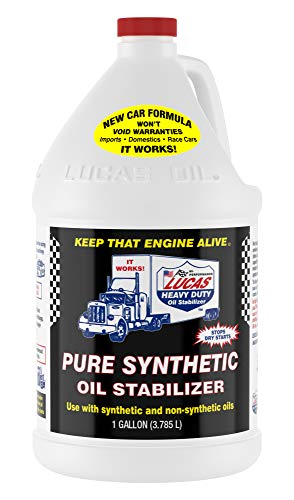 Lucas Oil LUC10131 Pure Synthetic Oil Stabilizer - 1 Gallon