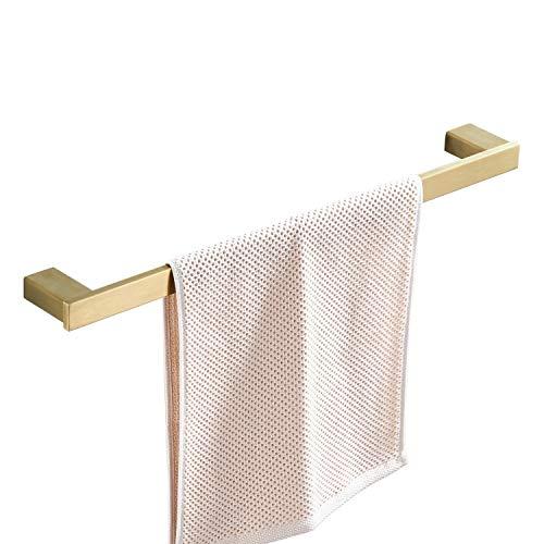 Beelee BA8001BG-40 - Toallero de pared para baño/cocina, acero inoxidable SUS 304, 40 cm