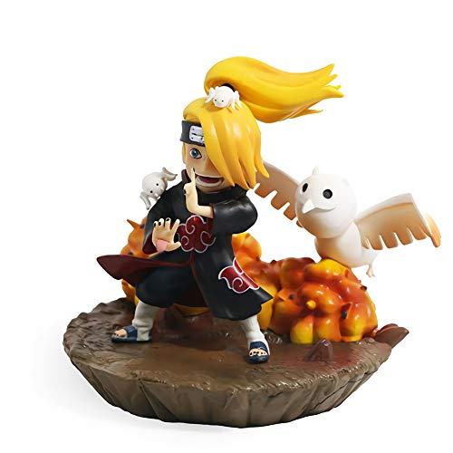 Happy Home Products Deidara Figura Pop Naruto, Figura de Anime Heroes Naruto Shippuden Fan Colección Esculture Toy Statu, regalo de Acción de Gracias, Navidad para niños