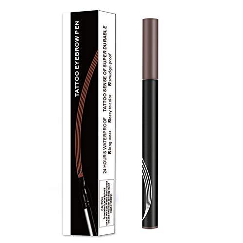 Microblading Tattoo Eyebrow Ink Pen Long Lasting 3D Fork Waterproof Brow Pencil
