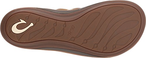 OLUKAI U'i Leather Sandal (Women's) 8 TAPA/Sahara