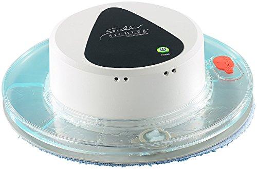 Sichler Haushaltsgeräte Bodenwischroboter Nass: Boden-Wisch-Roboter PCR-1130 für Nass- und Trockenreinigung (Nass-Wischroboter)