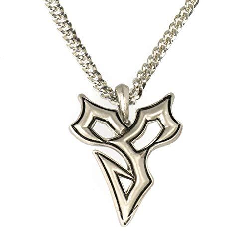 CoolChange Final Fantasy X Halskette von Tidus mit Zanarkand Abes Anhänger I Metall