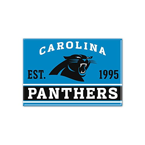 Wincraft NFL Carolina Panthers Metall Magnet