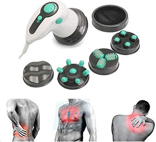 Mbswdd Tragbares Massagegerät Elektrischer Handrücken Körper abnehmen Tiefes Gewebe Intelligente Anti-Cellulite-Hautmaschine Geeignet zur Linderung von Körperschmerzen