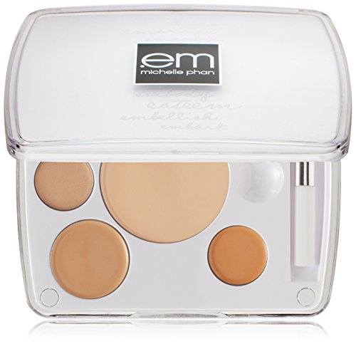 em michelle phan Shade Play Concealer Color Mixing Palette, Fair