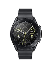 TITANIUM DESIGN. TIMELESS APPEAL: Galaxy Watch3 Titanium combines style – 50,000-plus ¹ watch faces and premium leather bands – with military-grade durability ²and water resistance³. LEAVE YOUR PHONE BEHND: Galaxy Watch3 Titanium gives you the freedo...