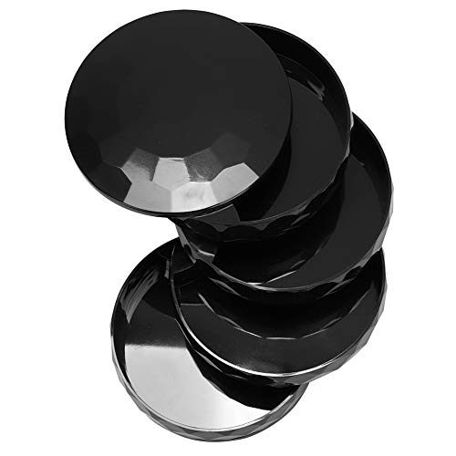Changor Caja de Almacenamiento de Joyas Multifuncional, Organizador de Anillos de Reloj, Organizador de cómoda, Caja de joyería Hecha de Resina ABS, acrílico Transparente (Negro)