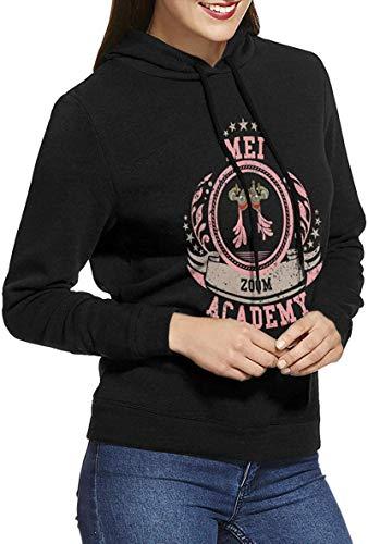 Ajxdhbhfsy Boku No Hero Academia - Dabi Soft Women's Long Sleeve Hoodies Pullover Sweatshirts,Mei Hatsume,Large