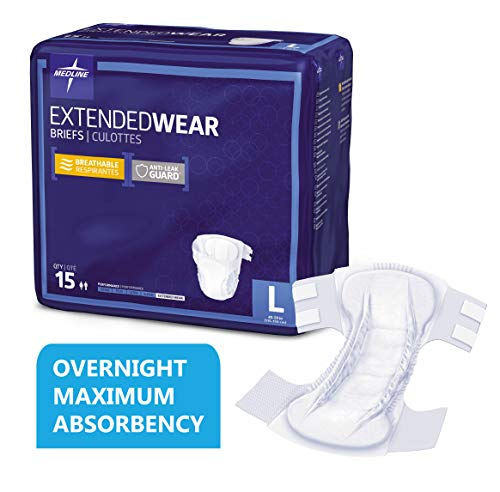 What Is The Best Overnight Diaper for Adults - Medline Extend Wear Overnight Adult Briefs