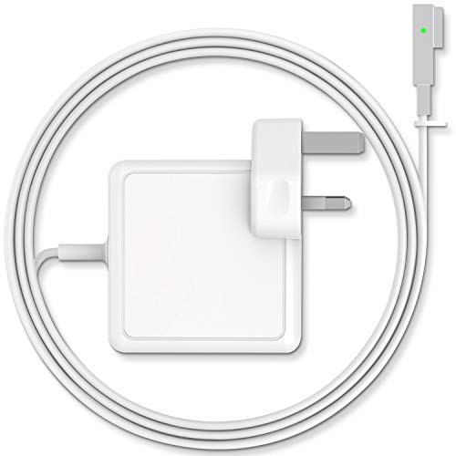 SUAMLAND Compatible With Macbook Pro Charger 85W Power Adapter For MacBook 13'&15'&17' Inch - Mid 2009 2010 2011 Mid 2012 Mac Models - MC556B/C A1343 A1278 A1290 A1286
