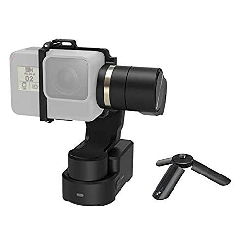 FeiyuTech Official WG2X 3-Axis Gimbal for GoPro Hero 8/7/6/5/4 Wearable Stabilizer Bike Bicycle/Helmet/Car Mounting Gimble for Action Camera Replace with Hero 8 Adapter to Work with Hero 8 Camera