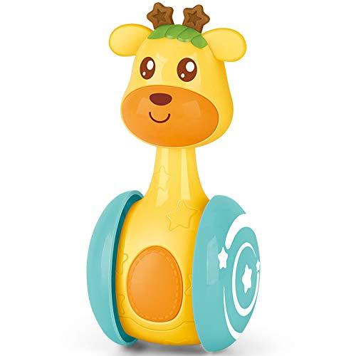 YUY Juguetes para Bebés Imagen Linda Mascota Ciervos Deslizamiento Vaso Sonajero Regalo Juguete