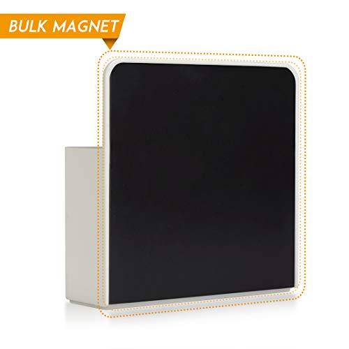 2 Pack Magnetic Dry Erase Marker Holder, Whiteboard Marker Holder, Mighty-magnetic Marker Pen Organizer for Whiteboards (White) Photo #7