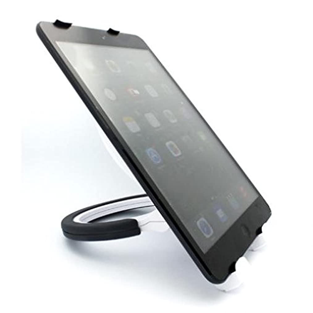 Premium Black Tablet Stand Desktop Folding Travel Portable Holder for Samsung Galaxy Note 8.0 (GT-N5110) - Samsung Galaxy Tab 2 10.1 - Samsung Galaxy Tab 2 7