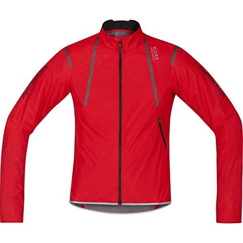 Gore Bike WEAR Herren Rennrad-Jacke, Super Leicht, Kompakt, Gore Windstopper, Oxygen WS AS Light Jacket, Größe: S, Rot, JWAOXY