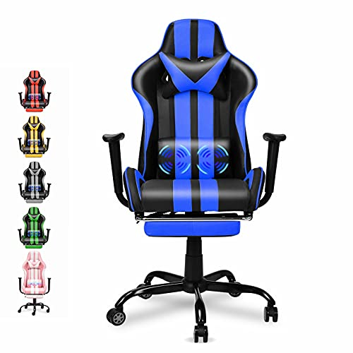 Ferghana Racing Style PC Computer Chair,Computer Gaming Chair, E-Sports Chair,Ergonomic Office Chair with Height...