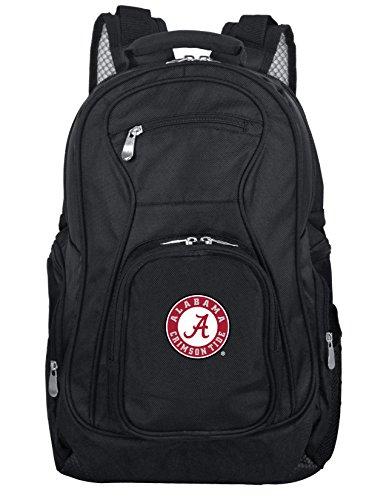 Denco NCAA Alabama Crimson Tide Laptop Backpack, 19-inches, Black