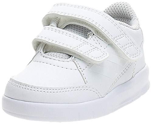 adidas Unisex Baby AltaSport Cf I Hausschuhe, Weiß (Ftwbla/Ftwbla/Gridos 000), 22 EU