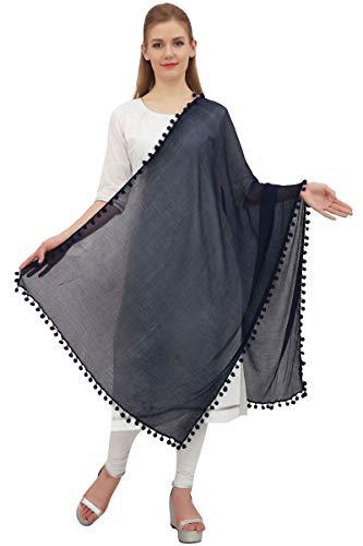 Phagun india gasa de las mujeres Dupatta cuello del abrigo largo de la estola bufandas Chunni