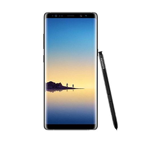 "Samsung Galaxy Note8 - Smartphone libre de 6.3"" (Android , 4G, WiFi, Bluetooth, Exynos 8895 Octacore 2.3 GHz + 1.7 GHz, 6 GB de RAM, cámara dual de 12 MP, single-SIM, 64 GB) [Versión europea] negro"