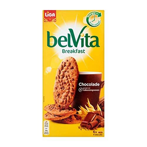 Chocolate Biscuits | BelVita | Desayuno Chocolate 24 Bizcochos | Peso total 300 gramos