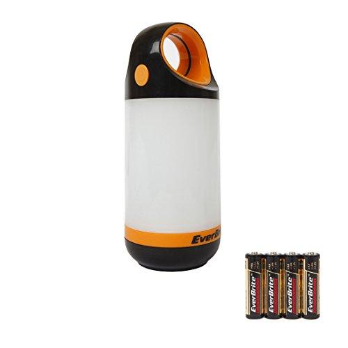 Everbrite 2 Pezzi LED Lanterna da Campeggio Impermeabile (300 Lumens e 150 Lumens)