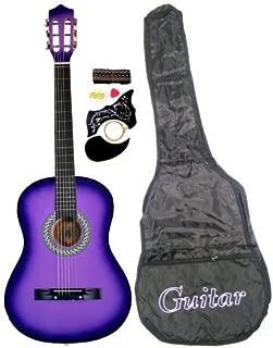 Directly Cheap Acoustic Guitar Pack, Light Purple + Accessories + DVD, 7/8 (GA3810R-PLS)