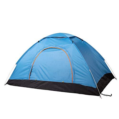 Vagasi 2 Personen Wurfzelt leichte Aufbauen robust für Camping Picnic Outdoor,Blau