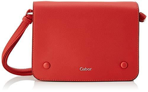 Gabor bags Umhängetasche Damen Felizia, Rot, M, Handtasche, Tasche Damen