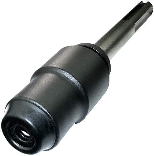 AERZETIX - Adattatore Convertitore SDS-Max a SDS-Plus con mandrino - Raccordo punta per trapano a percussione - Scalpello/Trapano/Punta - in acciaio CR-V - C45025