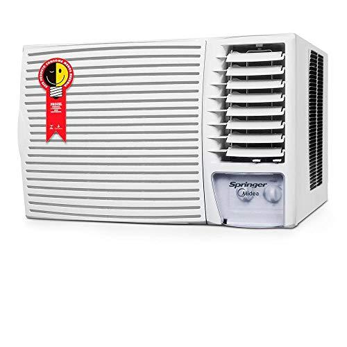 Ar Condicionado de Janela Mecânico, Springer, Branco, 18.000 BTU/h Frio, 220v, Midea