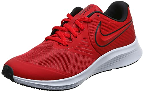 Nike AQ3542-600-5.5Y Laufschuh, Rot University Red Black Volt 600, 38 EU