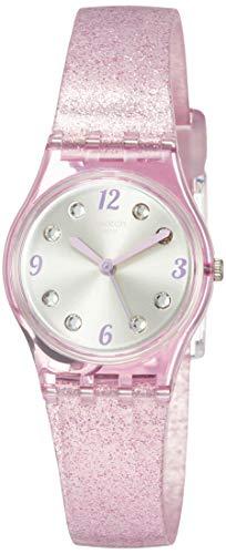 Swatch Reloj Analógico para Mujer de Cuarzo con Correa en Silicona LP132C