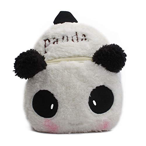 LUSTAR Cute Animal Toddler Backpack Kid Panda Plush School Bags Children Backpacks For Boys Girls