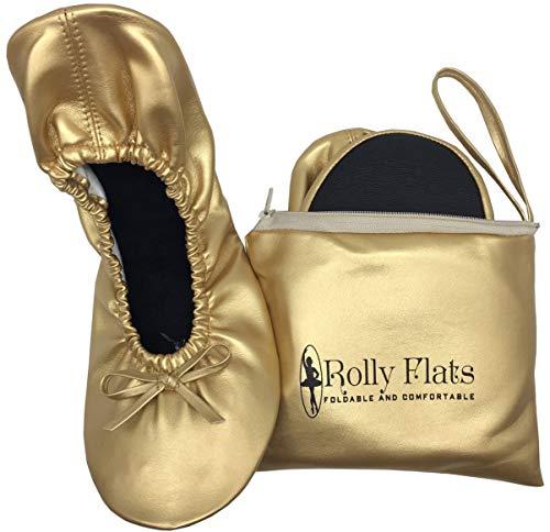 Rolly Flats - Bailarinas Plegables con Bolsa de Transporte para Mujer