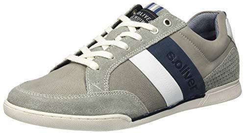 s.Oliver Herren 5-5-13619-24 Sneaker, Grau (Grey 200), 42