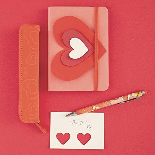 THUN ® - Astuccio con penna a sfera - Linea Sydney in love - Astuccio 16,5x2 cm - Penna 14,5 cm