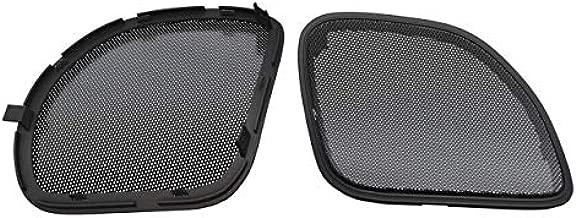 Hogtunes RGRM Metal Mesh Replacement Front Speaker Grilles (Black Trim) for 2015+ Harley-Davidson Road Glide Models - RGRM Grill RGRM Grill