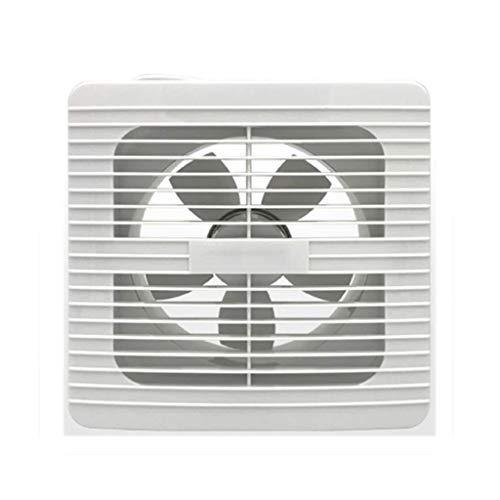 LANDUA Ventilador de ventilación Ventana, Salida de Aire 8 Pulgadas Blanca Pared Exterior Campana de ventilación de Salida de Flujo de Aire de ventilación