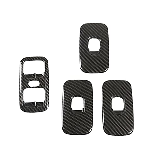 HMEILI Botón de Interruptor de elevación de Ventanas Marco de Ajuste de Ajuste para Mercedes Benz G Wagon Class W463 (Color Name : Black)
