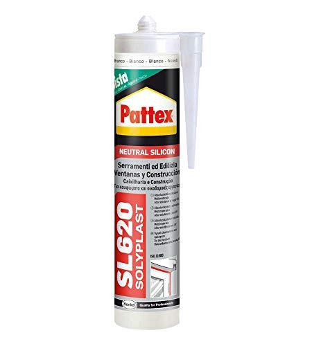 Pattex 1536101 SL 620 châssis de fenêtre et construction, 300 ml, aluminium