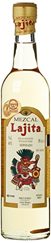 Lajita Mezcal with Agave Worm (1 x 0.5 l)
